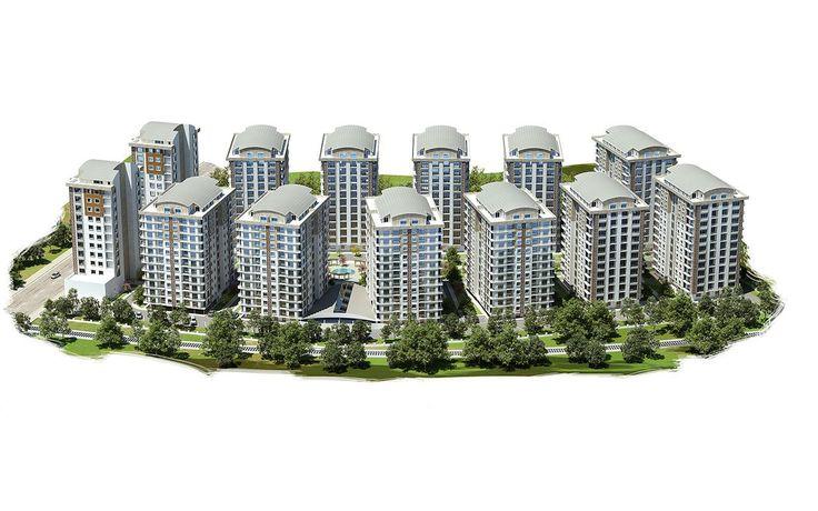Şehristan Konutları - 3 Boyutlu Görünüm, Fiyatları, Nerede, Resimleri, Kat Planları