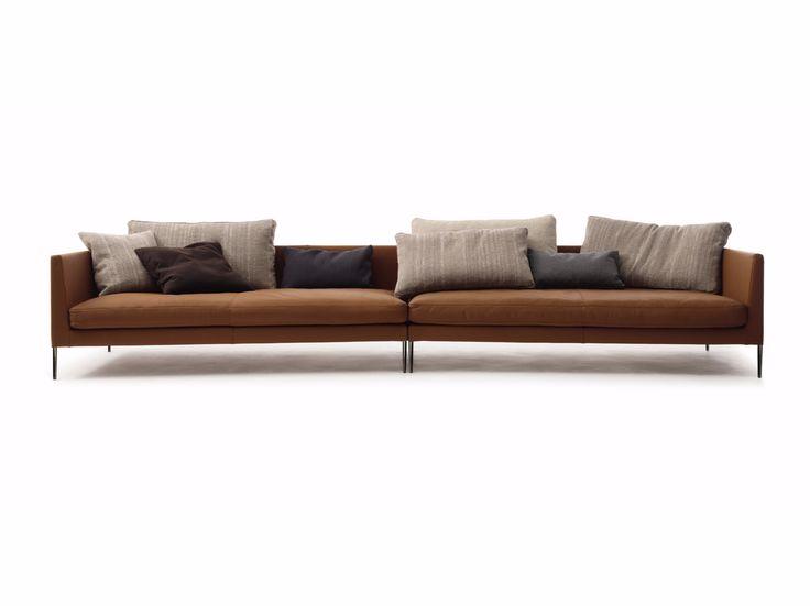 PILOTIS Leather Sofa Pilotis Collection By COR Sitzmöbel Helmut Lübke Design  Metrica