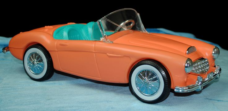 barbie doll car | 1962 – 2014 Barbie, Family and Friends doll 'Cars'!