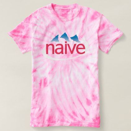 Evian = Naive Vaporwave Shirt - pink gifts style ideas cyo unique