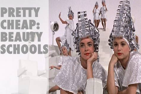 Cheap Hair Salons : Pretty Cheap: Beauty Schools for Budget Spa Services Shoestring
