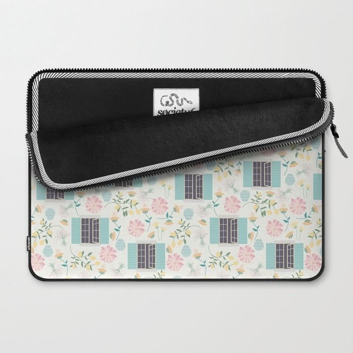 Italian garden Laptop Sleeve by Valeria Frustaci | Society6