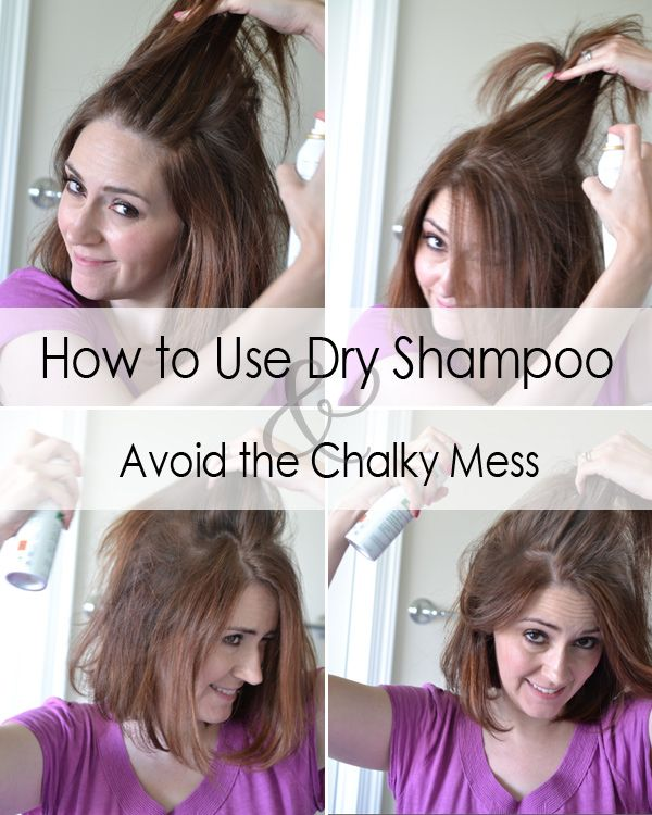 Avoid the White Powdery Mess: Tips from a Pro for Using Dry Shampoo