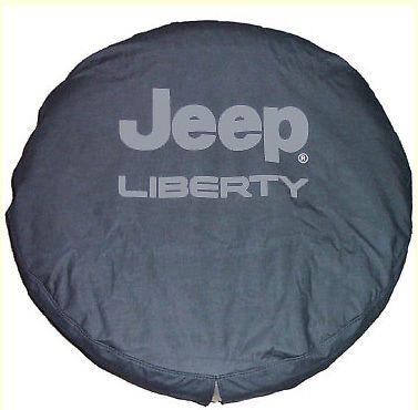 2002-2007 Jeep Liberty Tire Cover Bright Silver w/Logo MOPAR GENUINE OEM #Mopar