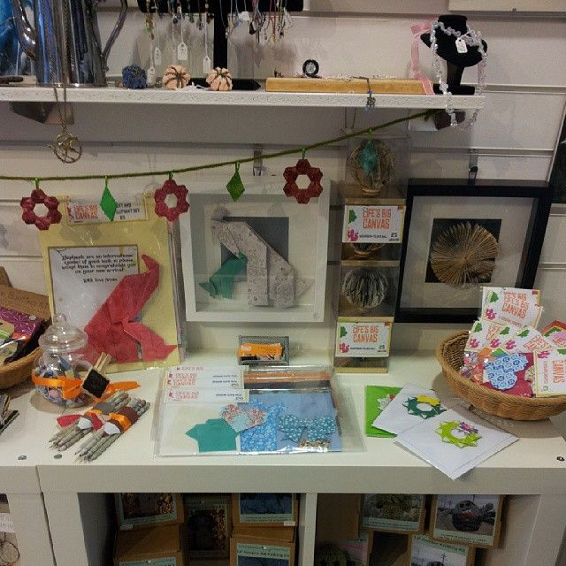 Had some fan new things in from Life's Big Canvas this morning, loving the origami kits!