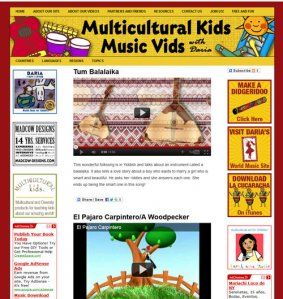 A New Video Website Shares Music and World Cultures With Kids