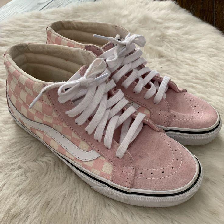 Vans Shoes | Vans Checkered High Tops