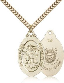 I have a friend who's very religious. She love anything with St. Micheal on it. She doesn't own a lot of jewelry, so I want to change that. I want to give her something that she would wear though. I'm sure that she would wear a pendant with St. Micheal on it.