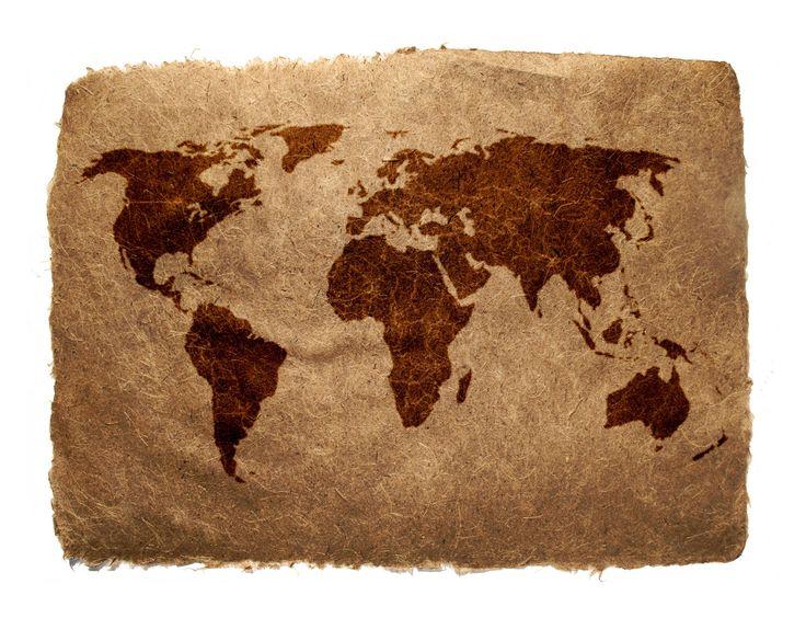 Скачать обои карта, мир, бумага, земля, раздел разное в разрешении 3288x2520