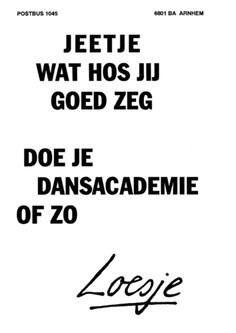 Hossen - Loesje