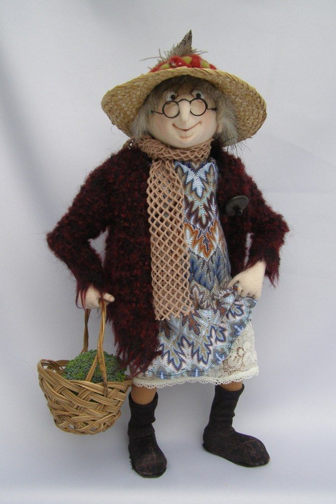 The work of Jill and Gordon Maas - Art Dolls Today
