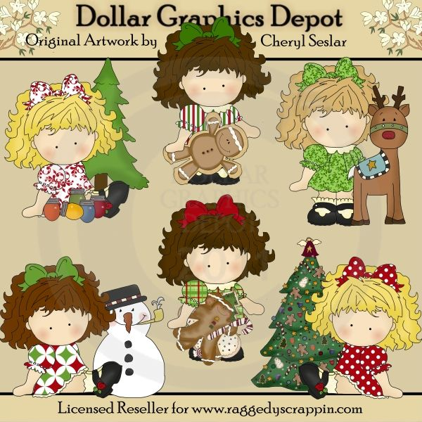 Christmas Gladys - $1.00 : Dollar Graphics Depot, Quality Graphics ~ Discount Prices