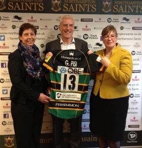 Northampton Saints Sponsorship Launch