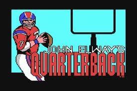 John Elway's Quarterback C64  http://retrosportsgamer.com/2011/11/12/this-ones-not-for-john-on-the-nes-port-of-john-elways-quarterback/