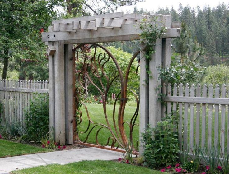 best 20+ gartentor metall ideas on pinterest, Gartengestaltung