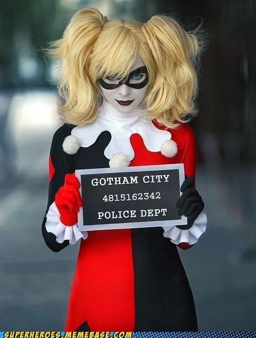 Harley Quinn. The slateboard is a good touch!