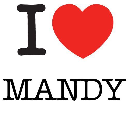 I Heart Mandy #love #heart