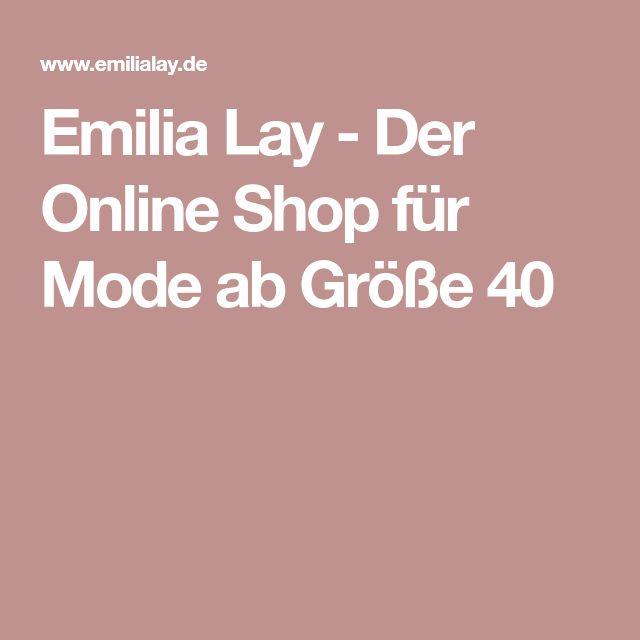 Emilia Lay - Der Online Shop für Mode ab Größe 40