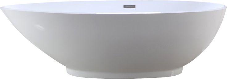 HelixBath Diospolis 75 x 33.5 Soaking Bathtub with Price : $ 1649.99
