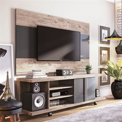 Manhattan Comfort 2-1456881168 Carnegie TV Stand and Panel