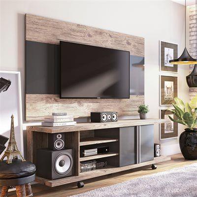 Manhattan Comfort 2-1456881168 Carnegie TV Stand and Panel