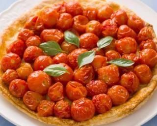 Tarte Tatin aux tomates cerise et balsamique