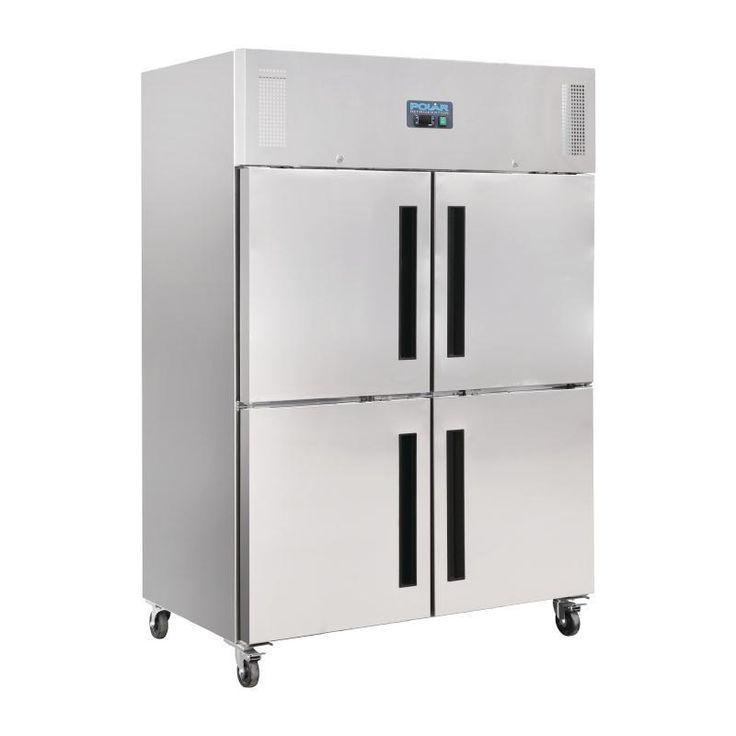 Armario frigorífico Gastronorm de dos puertas dobles Polar
