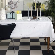 Stardust by Medusa-Copenhagen.  Table Cloth with easy-care.