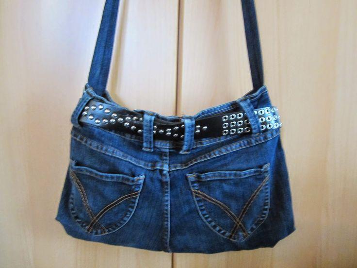 Alte Jeans - Neue Tasche Recycling selber nähen