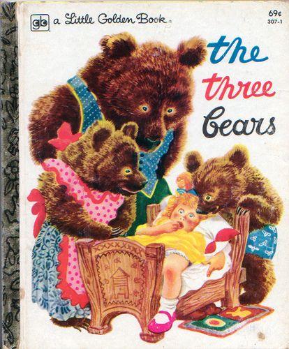 The Three Bears, Feodor Rojankovsky, 1948- 1979 Reissue