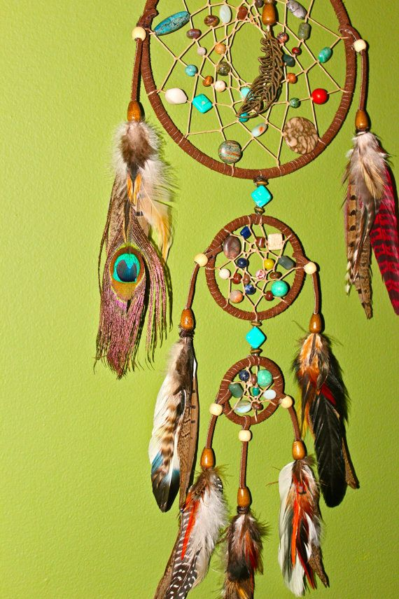 dream catcher with stones
