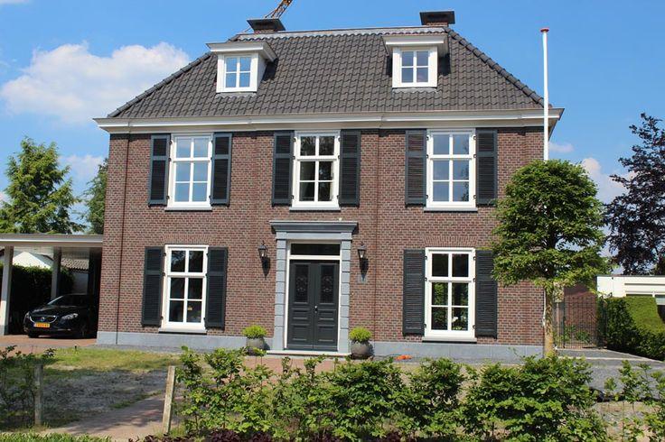 Burgemeester Serrarisstraat Heeze – nieuwbouw notariswoning Wv bouw