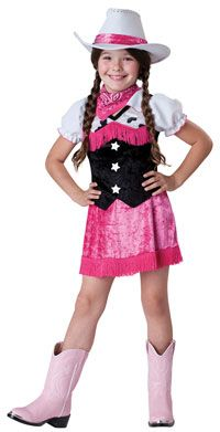 Cowgirl Cutie Girls Costume - Cowgirl Costumes