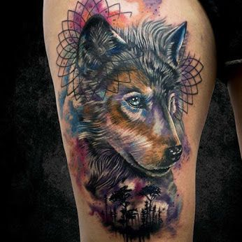 Amazing Wolf by Stechfrequenz Tattoos  #tat #tatoo #tattoo #tattoos #inked #inkedone #inkedart #tattooart #tattooartwork #tattoogallery #tattooed #tattooer #tattooist #animal #animalart #animaltattoo #wolf #wtg #worldtattoogallery #wolftattoo #art #arts #artgallery #artcollective