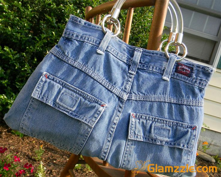 another bag from old jeans