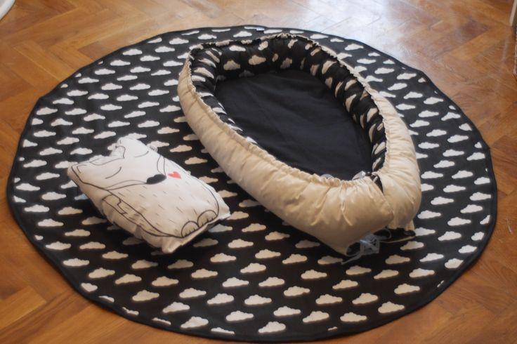 play blanket MMMoje Baby nest MMMoje pillow fox MMMoje
