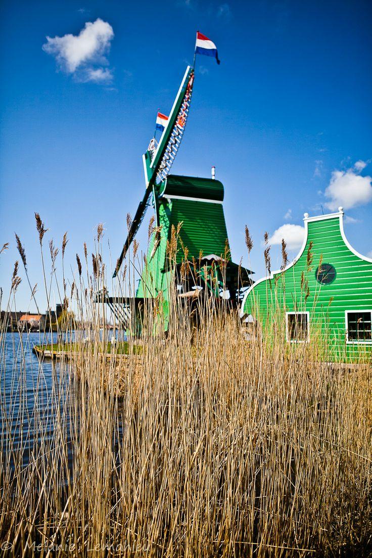 Windmill - Zaanse Schans, Holland