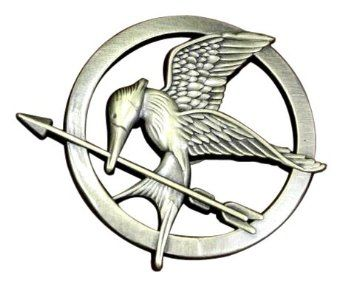Hunger Games is an amazing series. I fell in love with the books from the very start, they're just so well done! This literal pin is great for fans to show off their Mocking Jay pride!