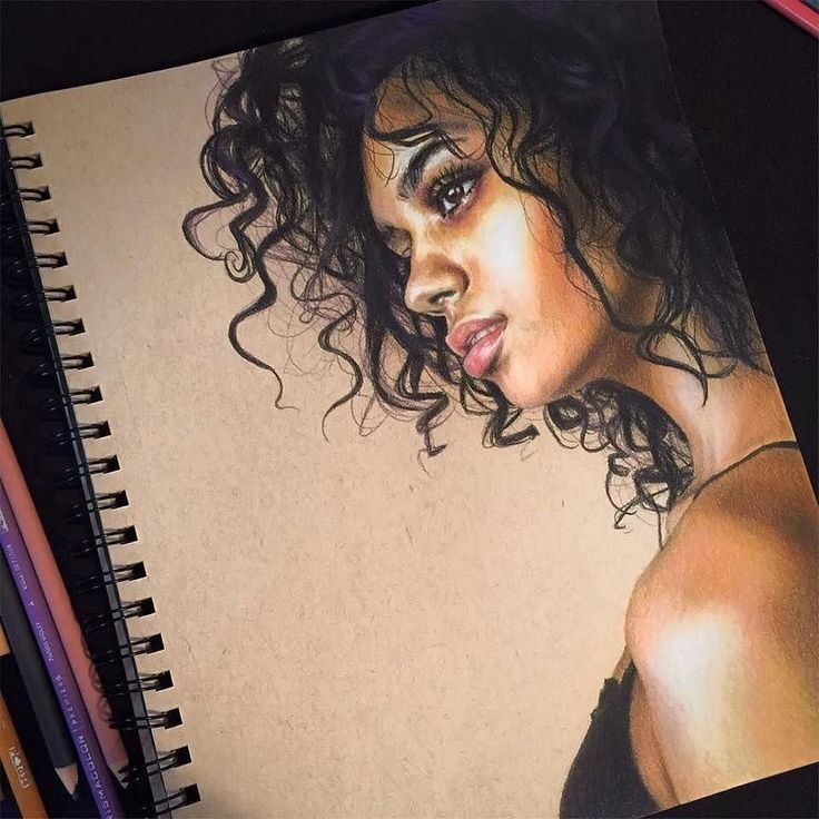 WANT A FEATURE ? CLICK LINK IN MY PROFILE !!! Tag #LADYTEREZIE Repost from @jennasylvanas I loved drawing this hair if you know of anyone with cool hair that has great photos feel free to tag them as I'd like to draw more hair types and colours via http://instagram.com/ladyterezie