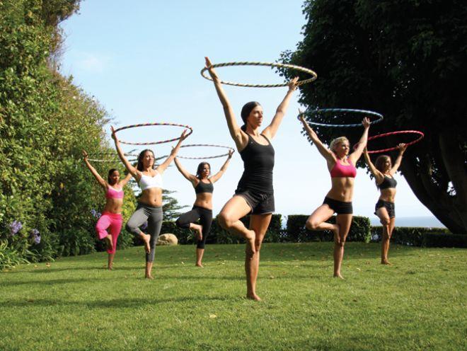 Hula-Hoop Your Way to Skinny