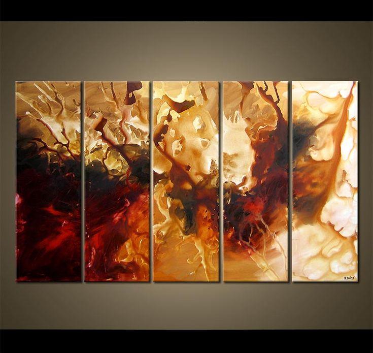 multi panel abstract art