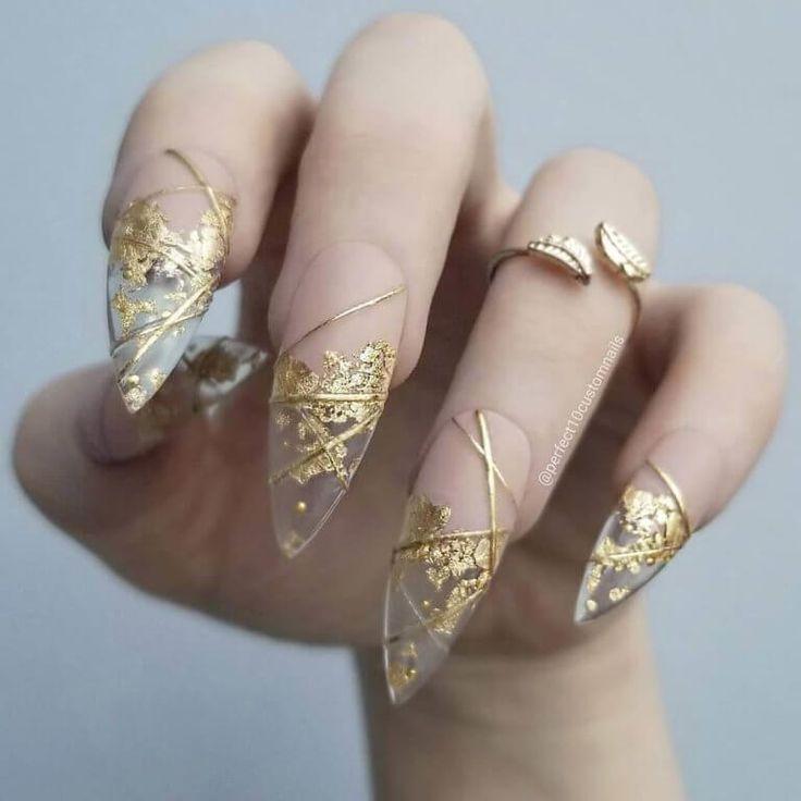 Pin de MaRiana González en Nail inspiration en 2021 | Manicura de uñas, Hacer uñas de gel, Arte