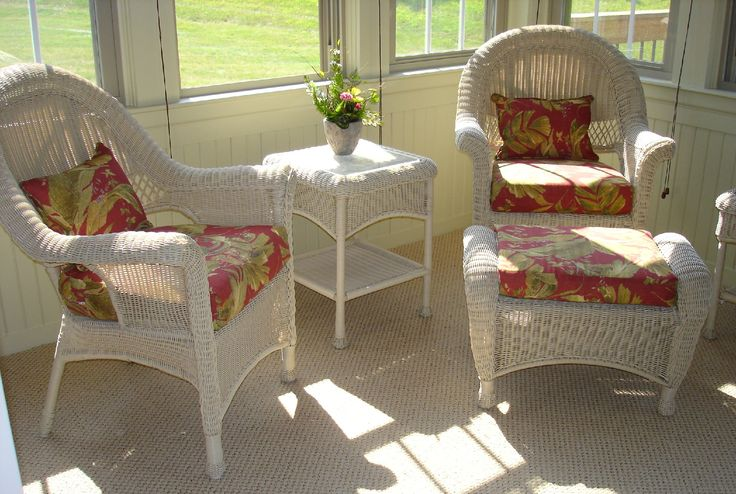 Wicker Chair Pillow Covers