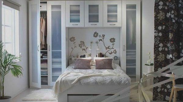 ... Kleine Slaapkamers op Pinterest - Kleine Keuken Ontwerpen, Slaapkamers
