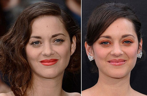 Marion Cotillard con dos 'looks' de alfombra roja en tonos naranjas #Looks #Beauty #Trends #Celebrities #People