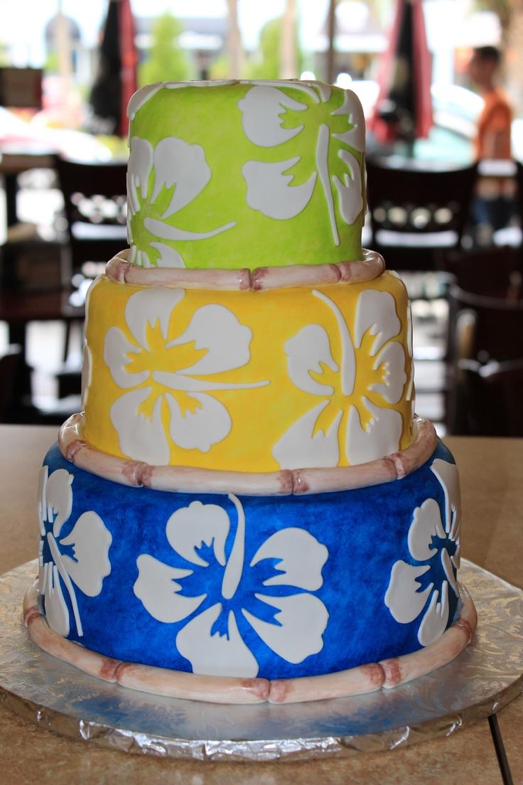 luau birthday cakes - Google Search