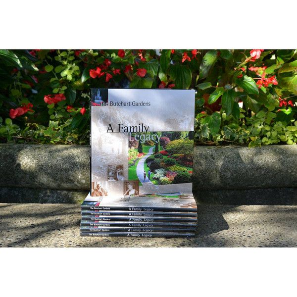 "72 page book telling the magical story of The Butchart Gardens illustrated with historical and present day photos. Page size 9 5/8"" X 9 5/8"" #butchartgardens #canada"