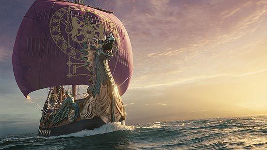 Navio Peregrino da Alvorada de Nárnia