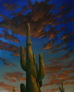 Jassar's Blog: Cactus painting