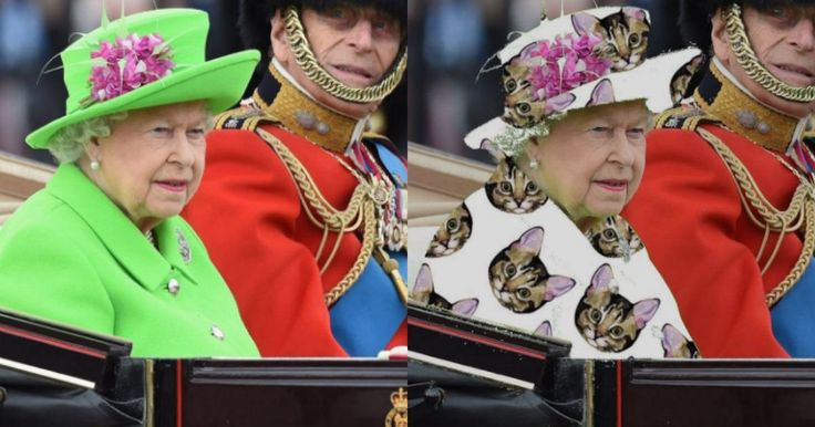 Long live the (green screen) queen.